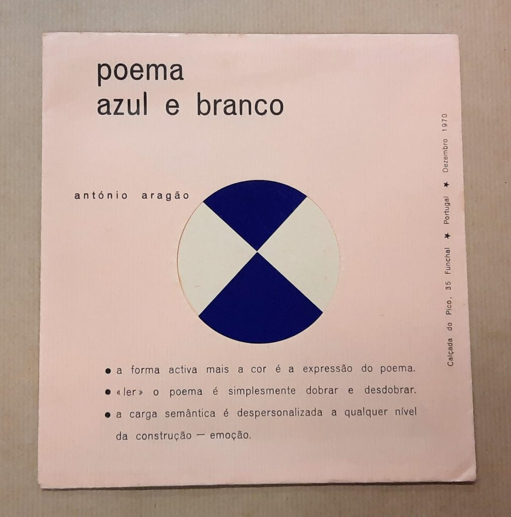 POEMA AZUL E BRANCO | António Aragão