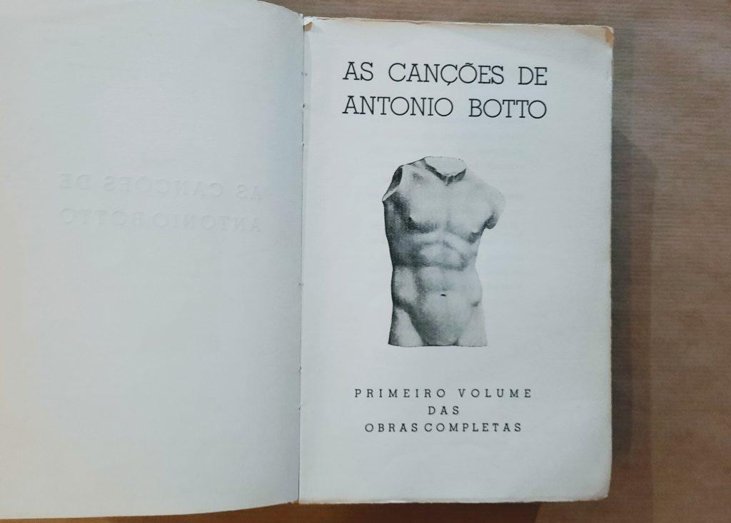 As Canções de António Botto
