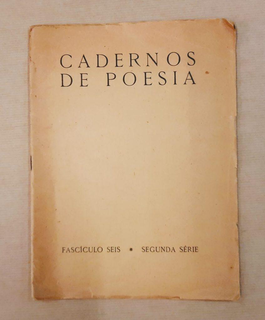 CADERNOS DE POESIA - fascículo seis, segunda série