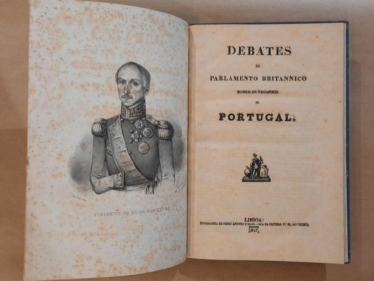 DEBATES DO PARLAMENTO BRITÂNICO SOBRE OS NEGÓCIOS DE PORTUGAL
