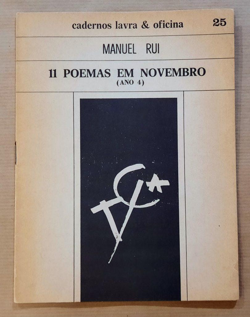 11 POEMAS EM NOVEMBRO (Ano 4) | Manuel Rui