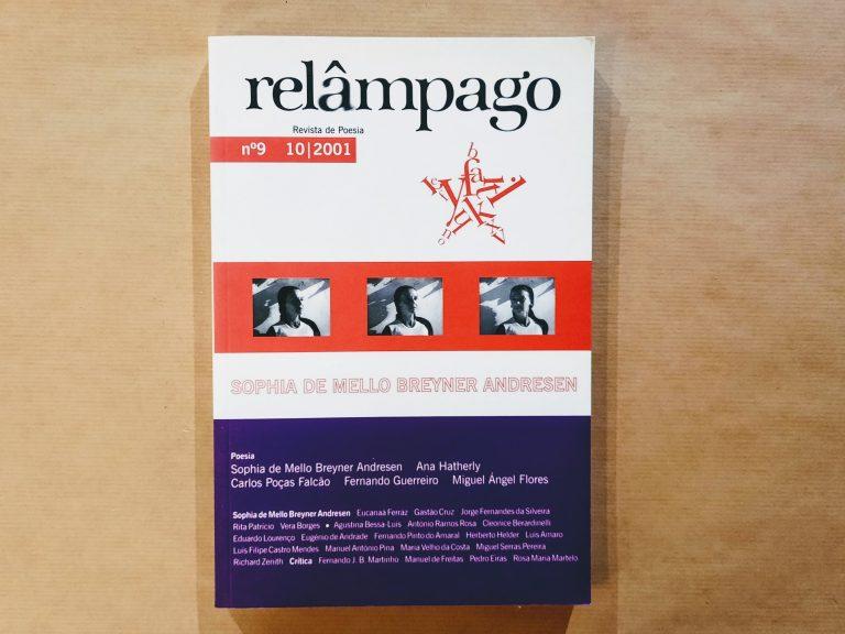 RELÂMPAGO nº9, outubro de 2001