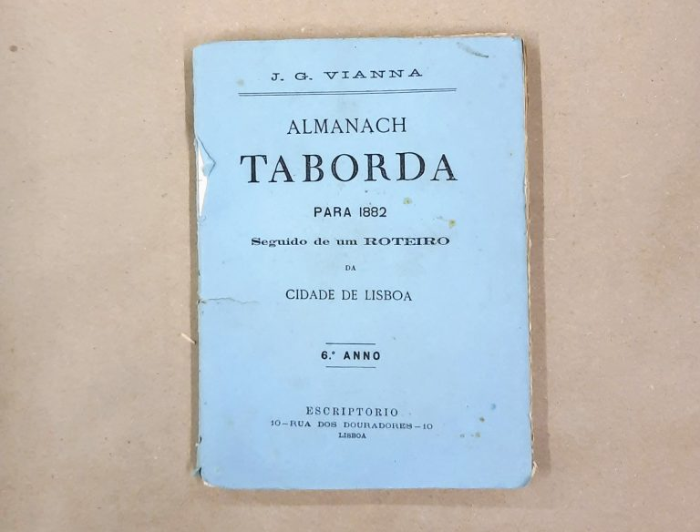 ALMANACH TABORDA PARA 1882