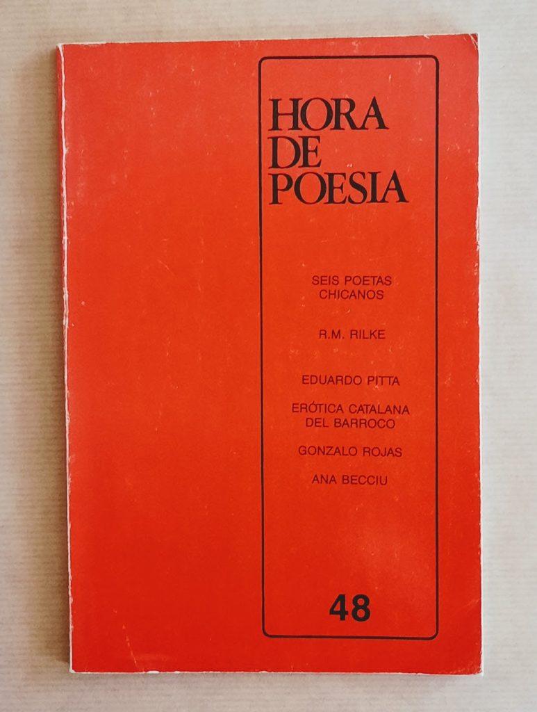 Hora de Poesia - revista bimestral, 48, 1986