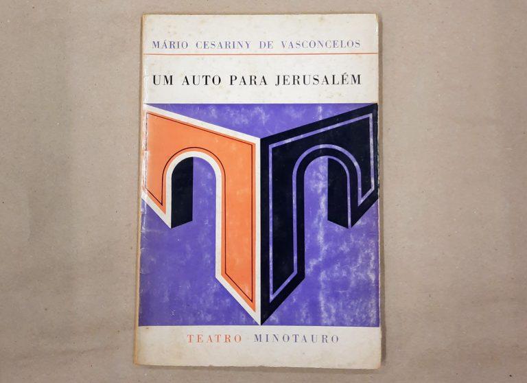 UM AUTO PARA JERUSALÉM | Mário Cesariny de Vasconcelos