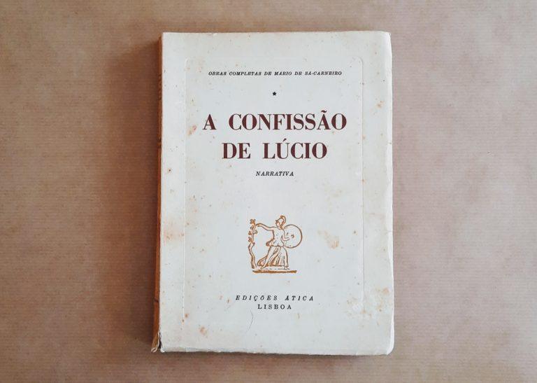 A CONFISSÃO DE LÚCIO | Mário de Sá-Carneiro