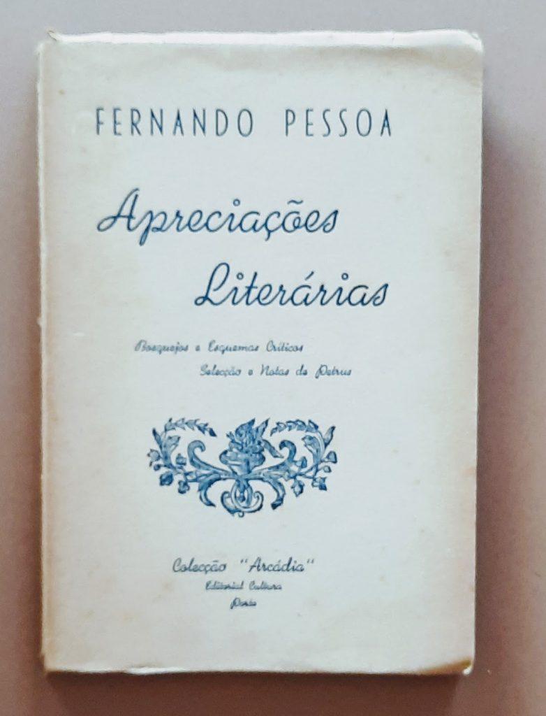 Fernando Pessoa | Apreciações literárias