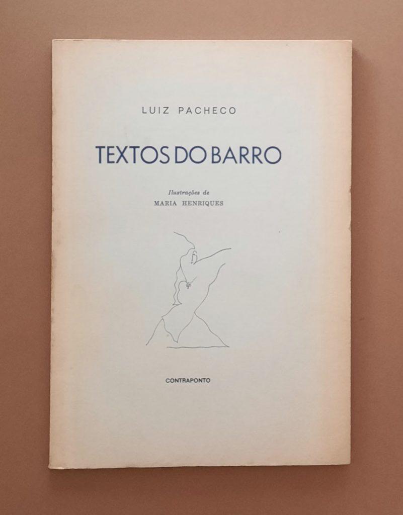 Textos do Barro   Luiz Pacheco
