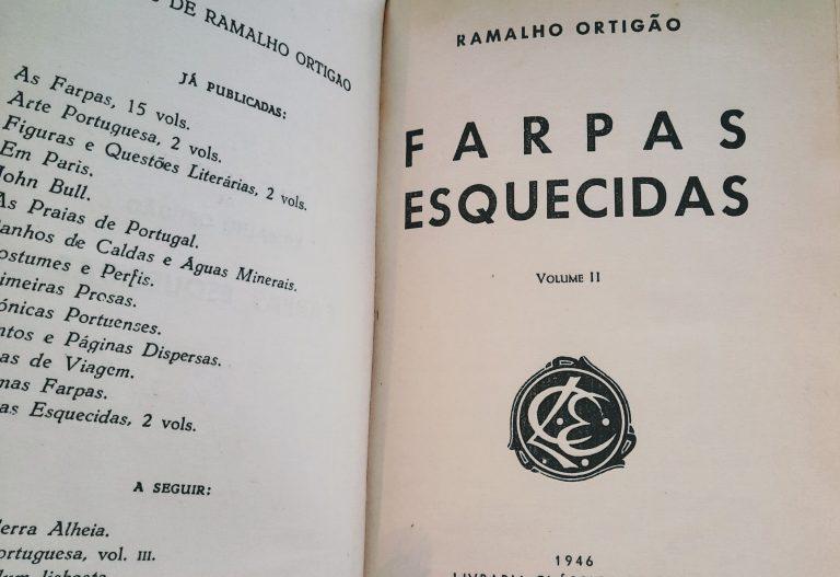 FARPAS ESQUECIDAS – vol.II | Ramalho Ortigão