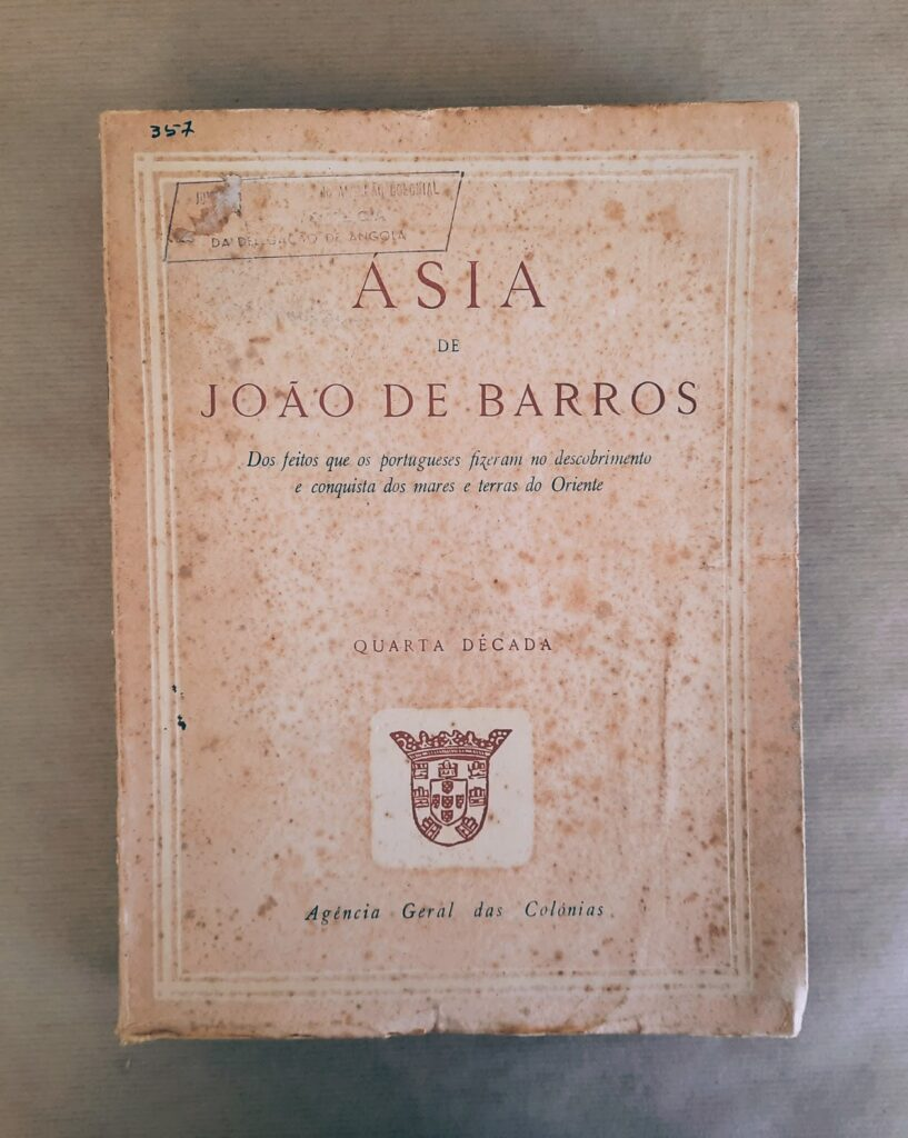 ÁSIA (Quarta Década) | João de Barros